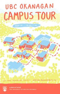 UBC Okanagan poster by Ashleigh Green