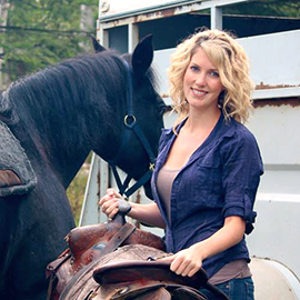 Candice Quin horses
